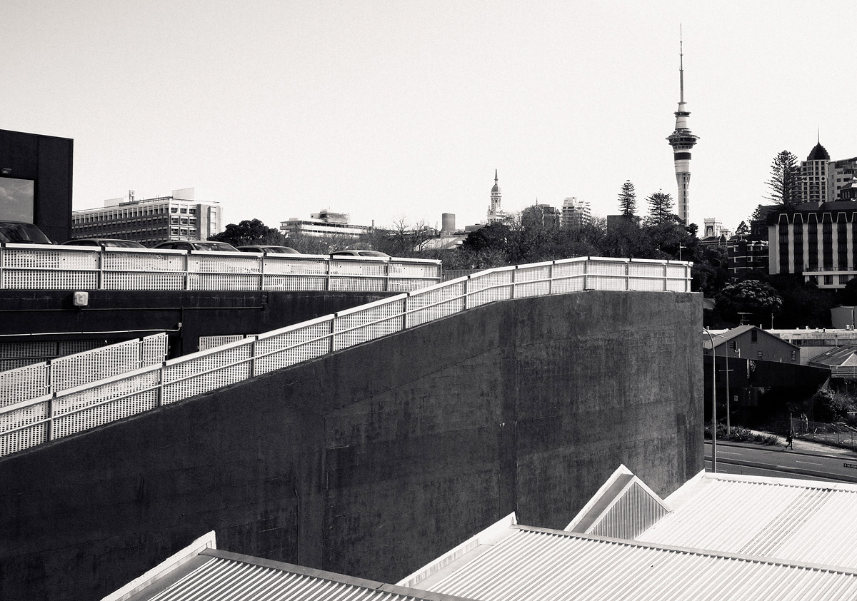 / urban, somewhere in Auckland, Sky Tower